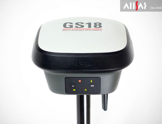 Leica GS18 T - Der schnellste GNSS-RTK-Rover der Welt