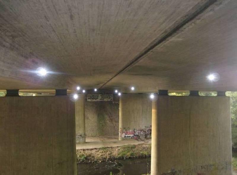 Monitoring einer Spannbetonbrücke