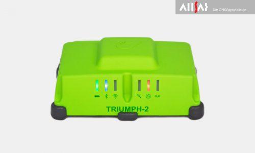 JAVAD Triumph 2 Anzeige