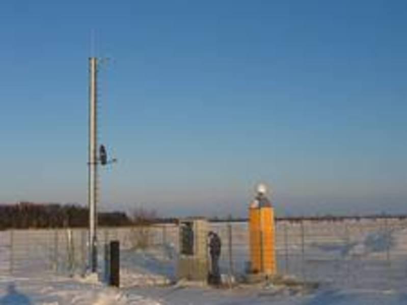 GNSS-Station des Fehmarnbelt Positionierungssystems