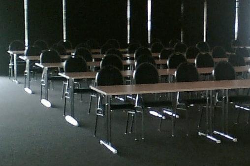 Seminarraum bei der ALLSAT Open Schulung