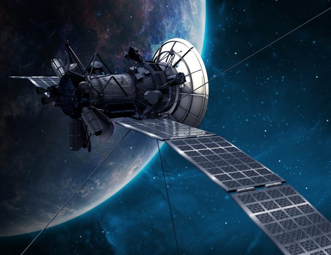 Beispiel: Galileo-Satellitennavigation mit Satellit
