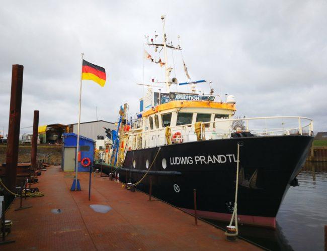 Das Ludwig Prandtl Forschungsschiff mit JAVAD Attitude System