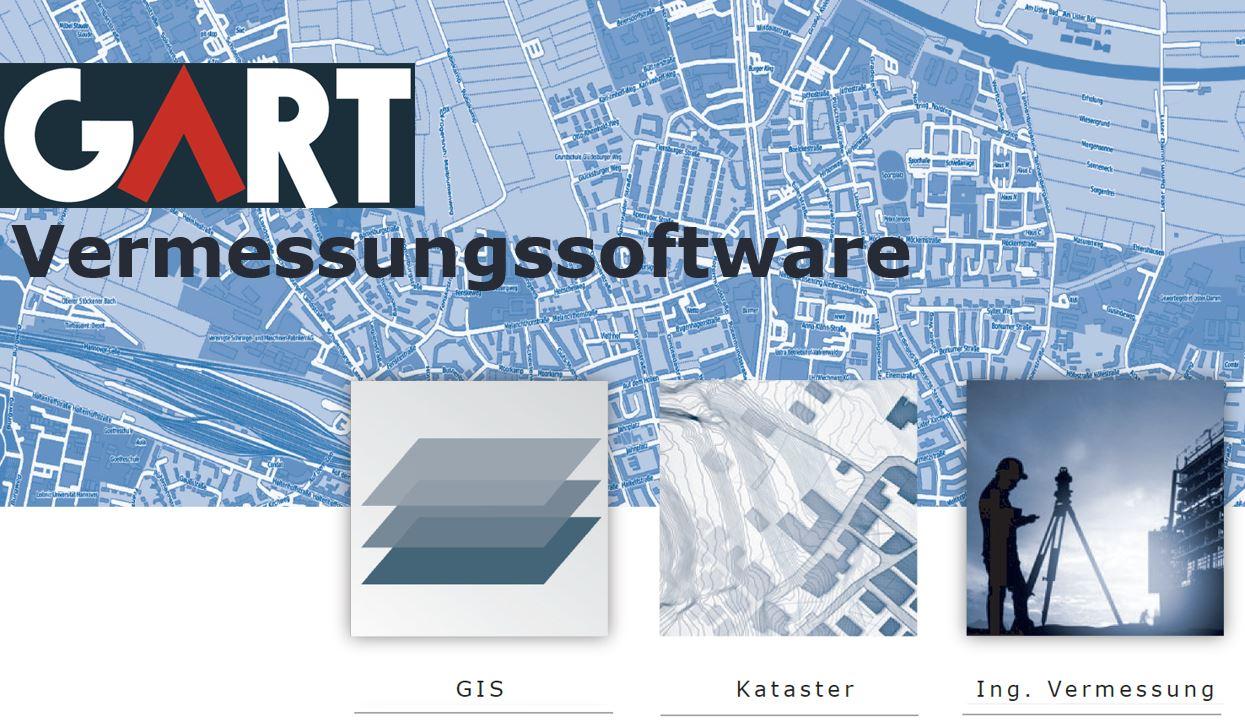 GART Vermessungssoftware integriert Vermessung und GIS