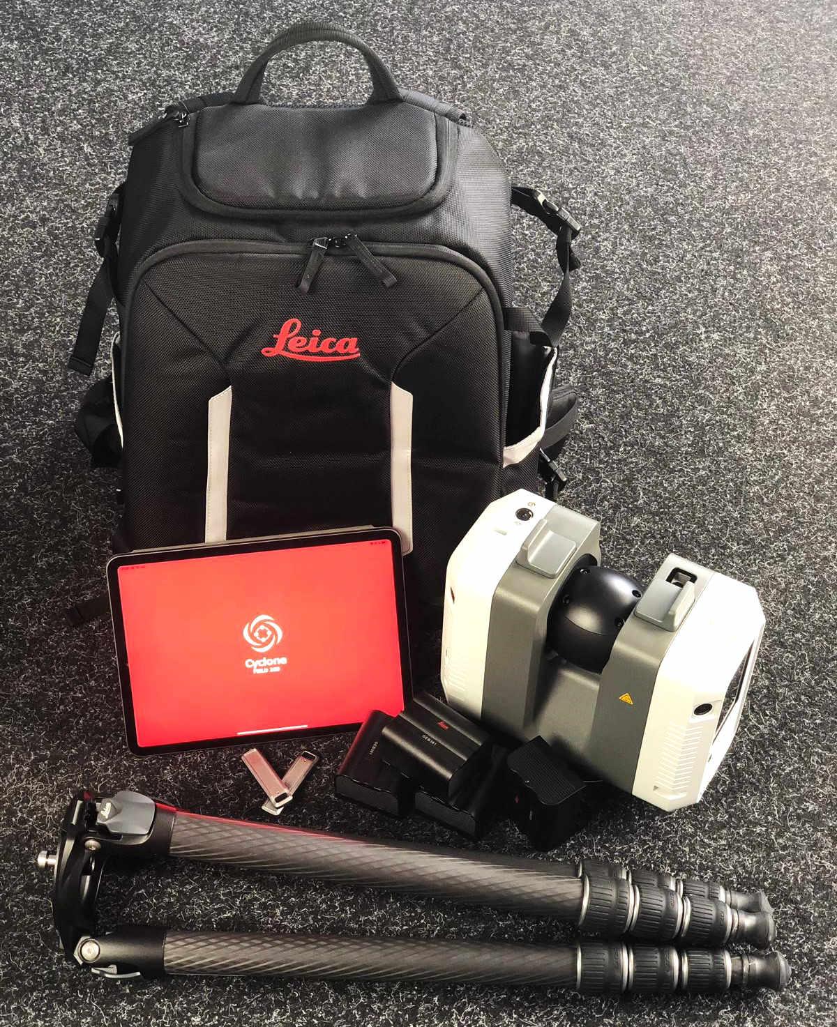 Jetzt bei ALLSAT Leica RTC360 Laserscanner kaufen