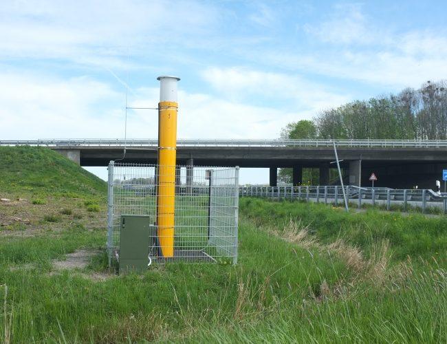 Monitoring Bundesautobahnbrücke durch die ALLSAT