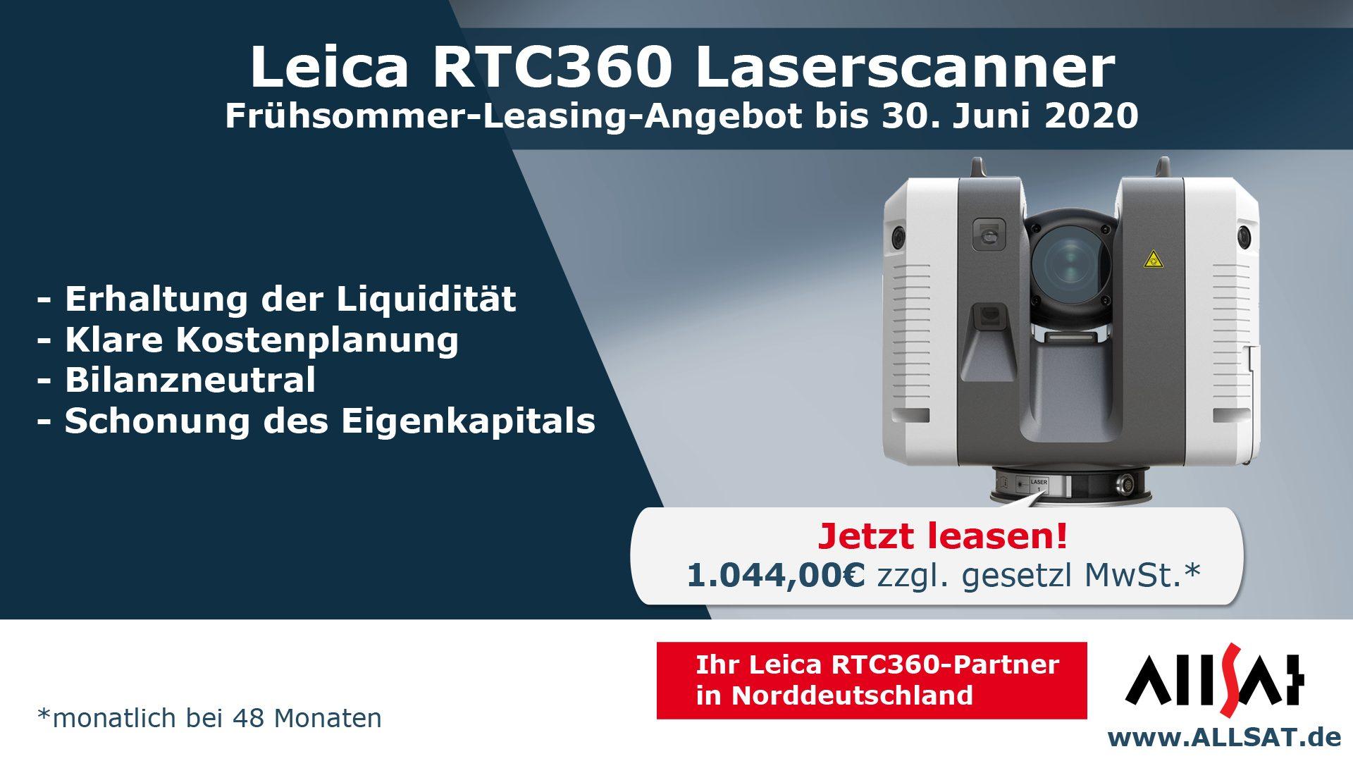 ALLSAT Laserscanner Leasing-Angebot