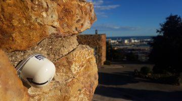 Senceive Neigungssensor an einer historischen Gebäudefassade