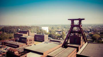 Besonders im Ruhrgebiet sind Bodenbewegungen aufgrund der Bergbauaktivitäten erkennbar.