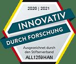 ALLSAT wurde für Forschungstätigkeiten vom der Stifterverband für die Deutsche Wissenschaft ausgezeichnet.