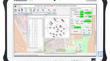 Aktuelle GART Version auf dem FZ-G1 Tablet