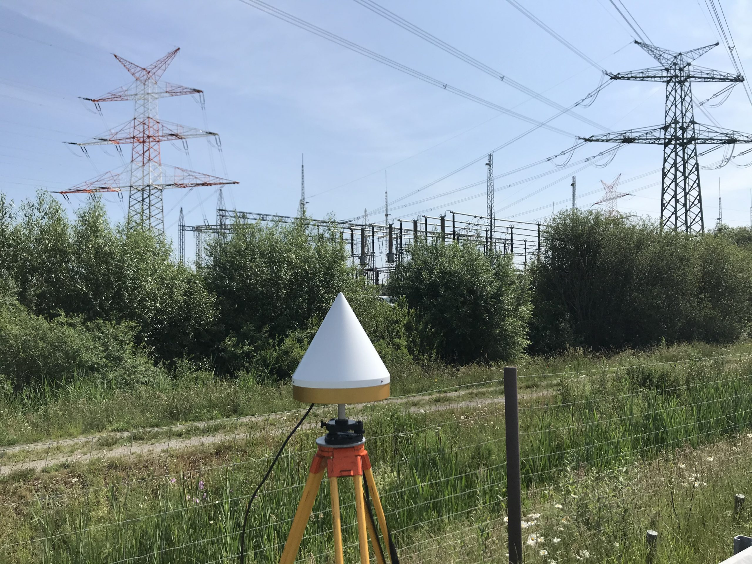 Umfangreiche GNSS-Messkampagne
