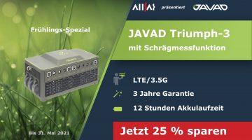 GNSS-Frühlings-Spezial  mit 25 % Rabatt