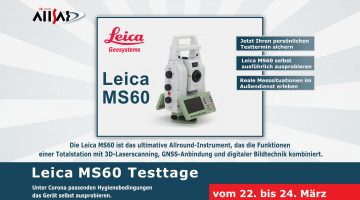ALLSAT Testtage: Leica MS60