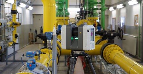 RTC360 Laserscanner im Einsatz